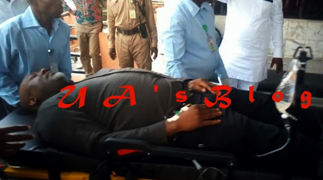 Melaye lands in hospital after 'attempting to escape' police custody