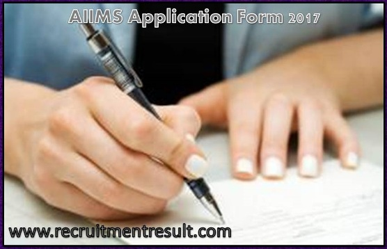 Aiims Application Form 2017 Online Mbbs Exam Registration