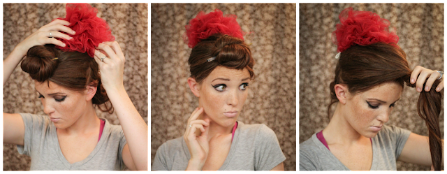 Excellent The Freckled Fox Hair Tutorial Amy Winehouse Beehive Short Hairstyles Gunalazisus