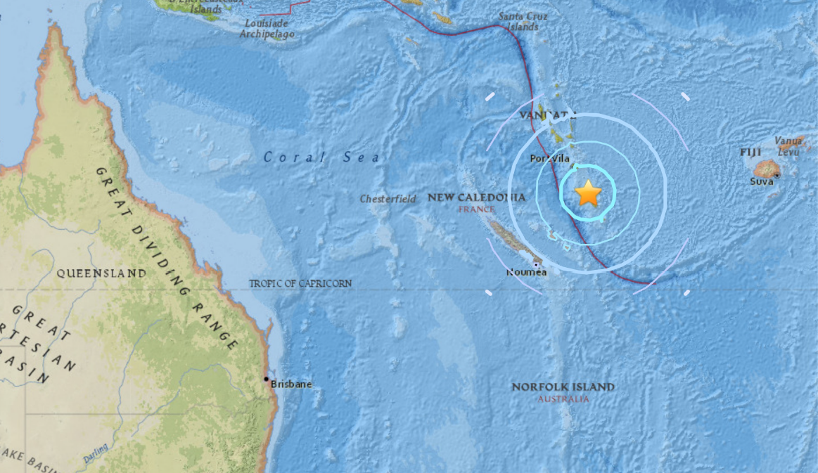 Sciency Thoughts: Magnitude 6 4 Earthquake off the coast of