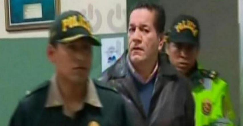 Hoy trasladan a un penal a Julio Alegría Cueto, catedrático acusado de acoso sexual a una estudiante