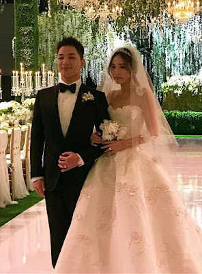 Tae Yang Big Bang Min Hyo Rin Wedding February 2018