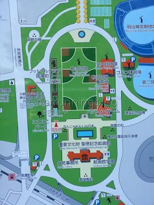 แผนที่สวนจิงงุ ไงเอ็น