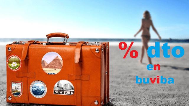 Cupones descuento viajes y vuelos en buviba