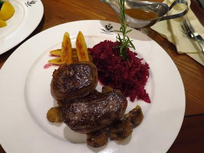 Kaiserhaus, venison steak