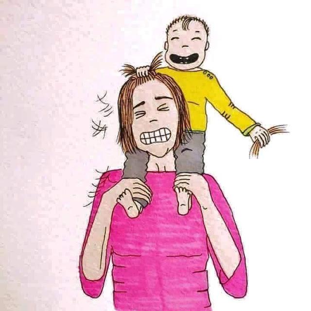 Perhatikan Ini Dahulu, Ternyata Begini Suka Duka Menjadi Seorang Ibu
