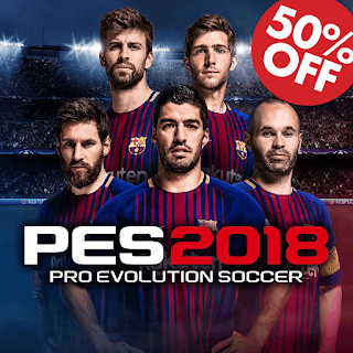 PRO EVOLUTION SOCCER 2018 50% OFF !!!