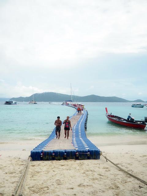 Jetty to Coral Island, Phuket, Thailand