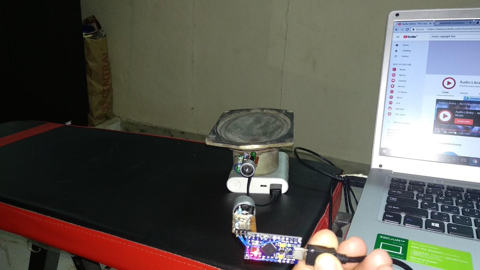 Electronics The King of Hobbies!: Ultrasonic audio