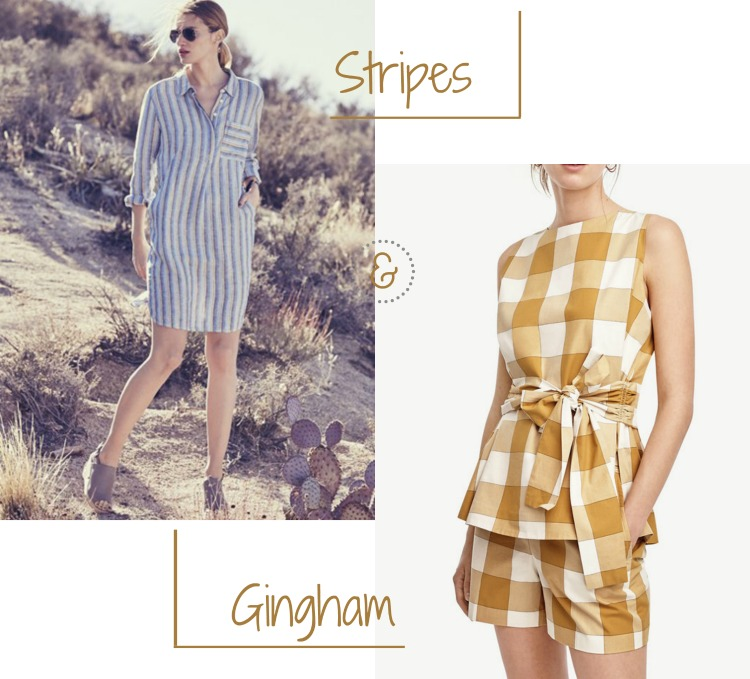 Summer Styles Mood Vibe Stripes and Classic Gingham