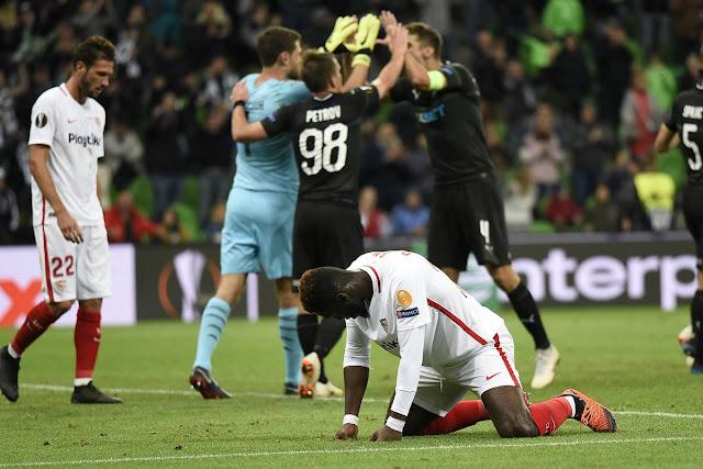 Crónica Krasnodar 2 - Sevilla FC 1