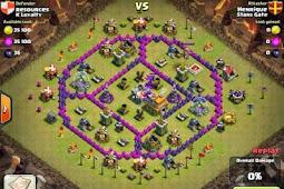 War Base COC TH 7 Terkuat Anti Naga
