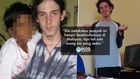 Richard Huckle: Pedofil Durjana Britain Yang Memangsakan Kanak-Kanak Malaysia Selama 9 Tahun