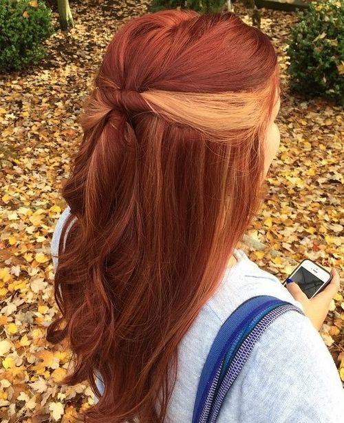 The Best Hair Style 2016 20 Pretty Ideas Of Peek A Boo