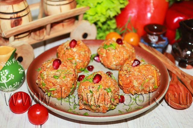 рецепт пхали из моркови по-грузински