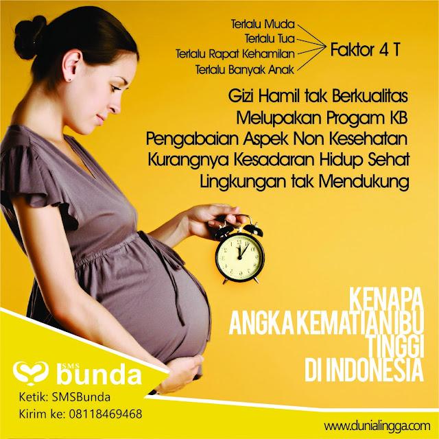 penyebab kematian ibu karena terlalu muda terlalu tua terlalu rapat kehamilan dan terlalu banyak anak