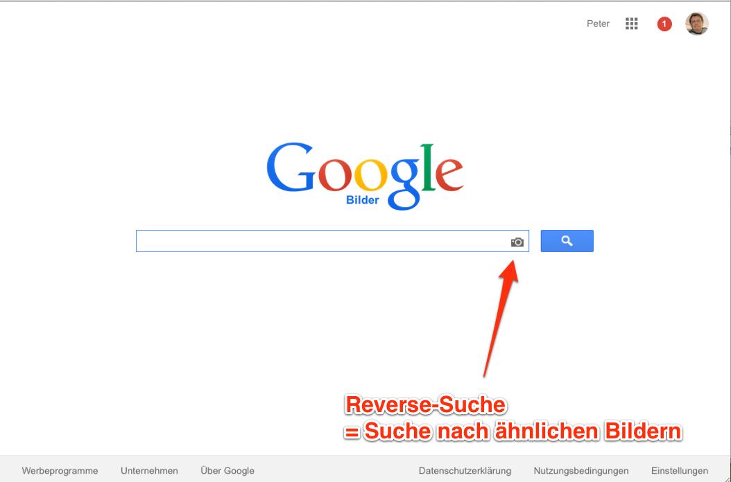 Bilder Reverse Suche