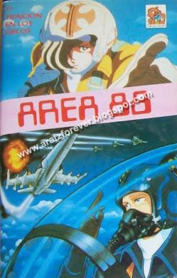 area 88, u.n. squadron, vhs, traición en los cielos, capcom