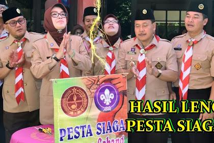 HASIL LENGKAP PARA JUARA PESTA SIAGA KWARCAB WONOGIRI FEBRUARI 2018