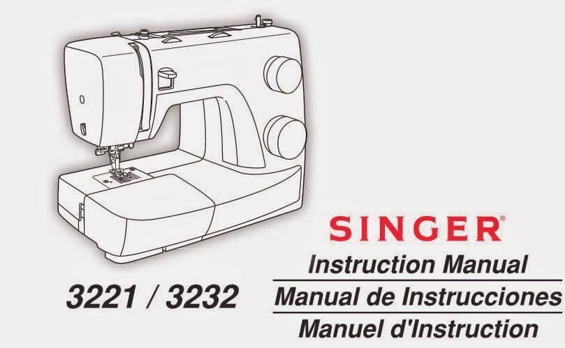 descargar manual instrucciones SINGER 3221 / 3232