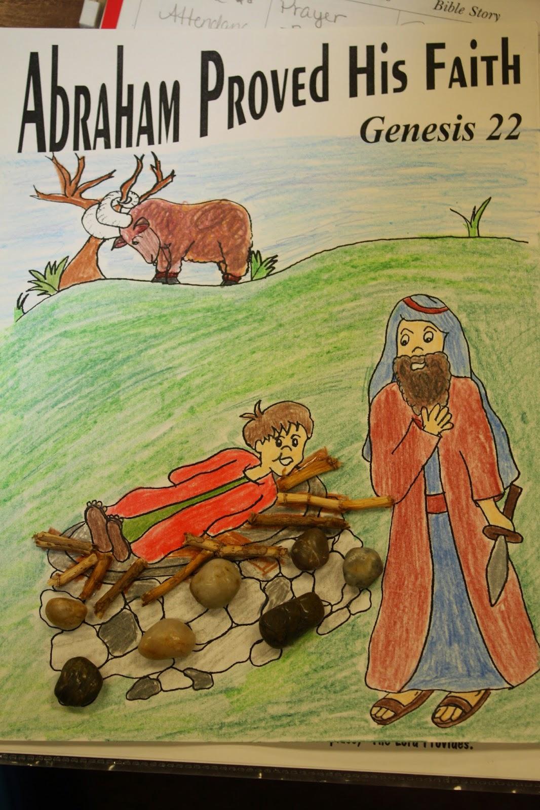Hands On Bible Teacher Abraham Is Faithful