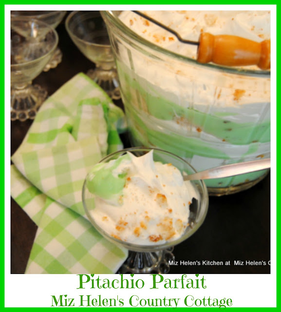Pistachio Parfait at Miz Helen's Country Cottage
