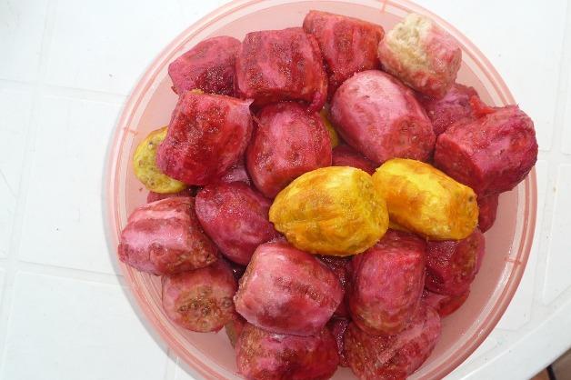 higos chumbos pelados alimentos del verano