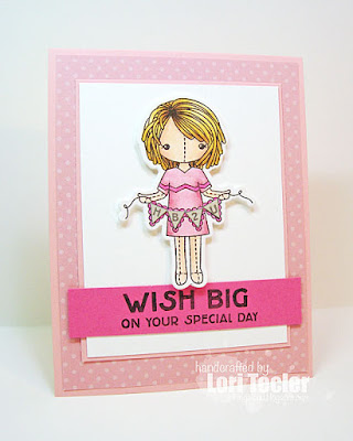 Wish Big on Your Special Day card-designed by Lori Tecler/Inking Aloud-stamps and dies from Clear and Simple Stamps
