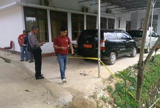 Polres Tana Toraja Dalami Pelemparan Bom Molotov di Depan Kantor STAKN Toraja