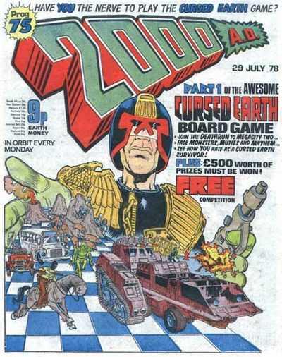 2000 AD Prog 75, Judge Dredd