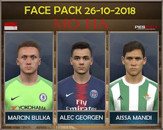 PES 2017 Facepack 26-10-2018 by Mo Ha