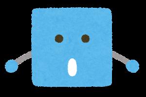 四角形のキャラクター4