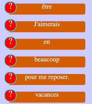 http://www.estudiodefrances.com/apprendre-le-francais/exercices/ordre-phrases.html