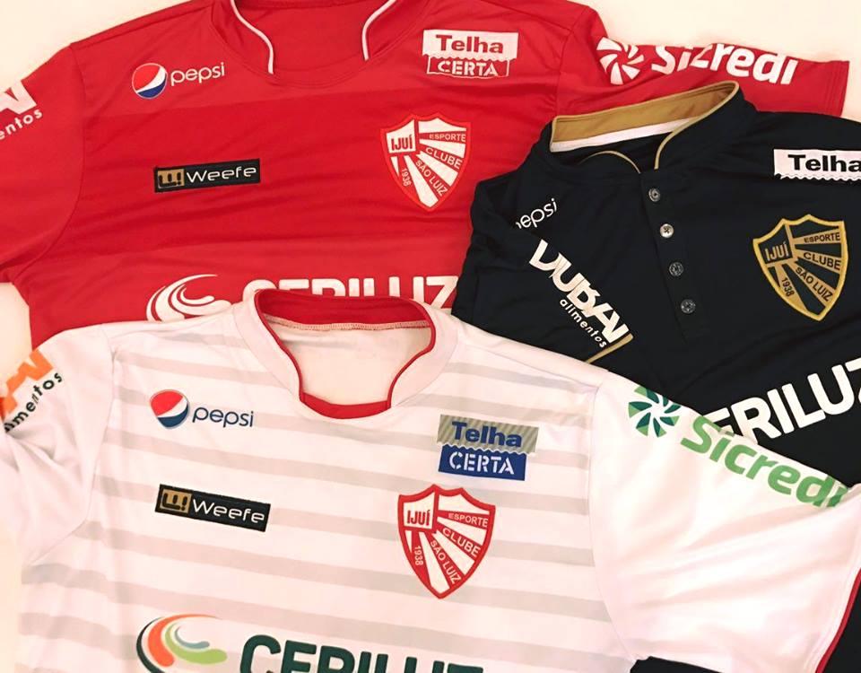 Weefe lança as novas camisas do São Luiz de Ijuí - Show de Camisas 2ad217201fab8
