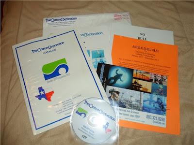 شرح طريقة الحصول على كتالوج DVD من ocean corp مجانا