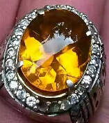 cara merawat cincin fire opal