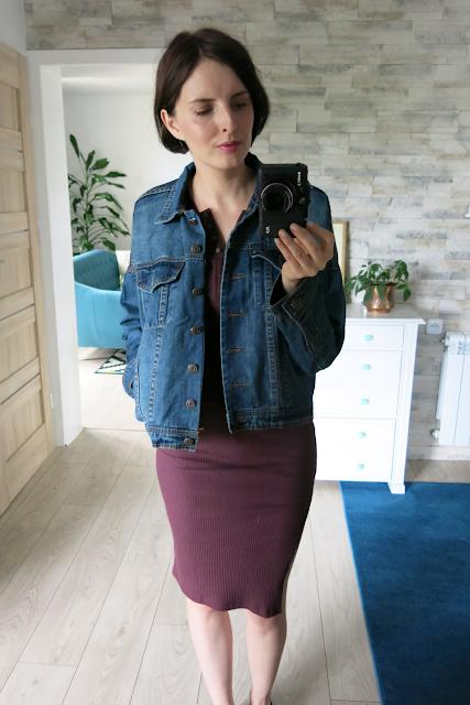 Kurtka | Denim jacket | Sukienka | Dress | Sammydress.