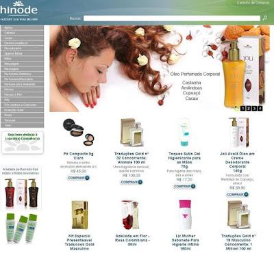 Hinode Loja Virtual Como Entrar