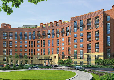 2700 Woodley planned apartment building by JBG in Washington DC