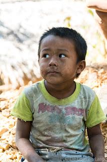 Mrauk-U - Chin Village - Myanmar