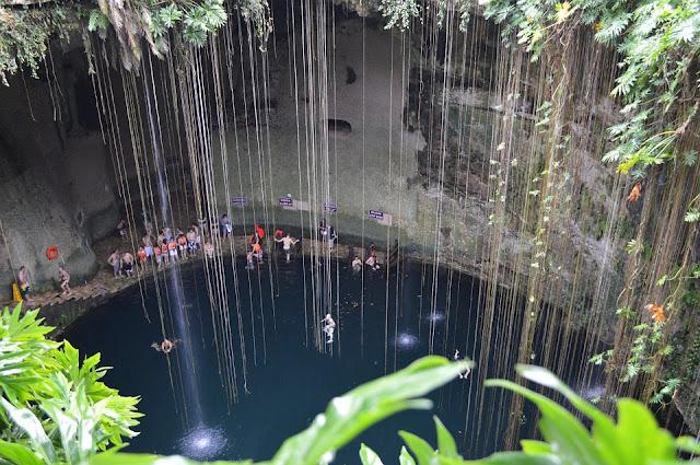 ¿Cómo es el cenote encontrado debajo de la pirámide de Kukulkán ubicada en Chichén Itzá?