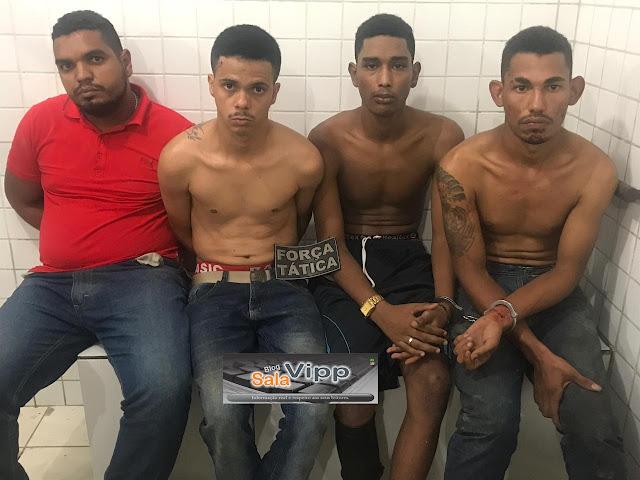 Tentativa de assalto ao Bradesco de Chapadinha termina com um assaltante morto e quatro presos