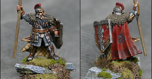 Iron Hills Dwarf with Spear Command