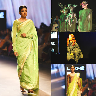 earth, elements of nature, LYF smartphones, lakme fashion week, designers, fashion