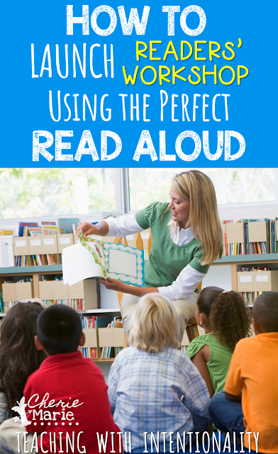 launching readers' workshop, read aloud, seed lessons for reading
