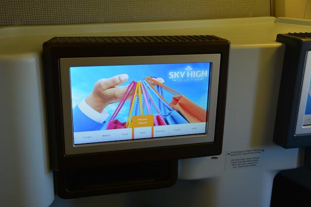 Sky High entertainment KLM
