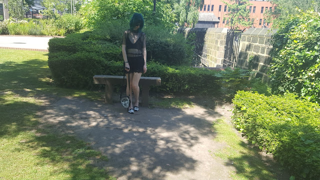 Nugoth Summer Outfits, Goth Summer Outfit, Alternative Summer Outfit,