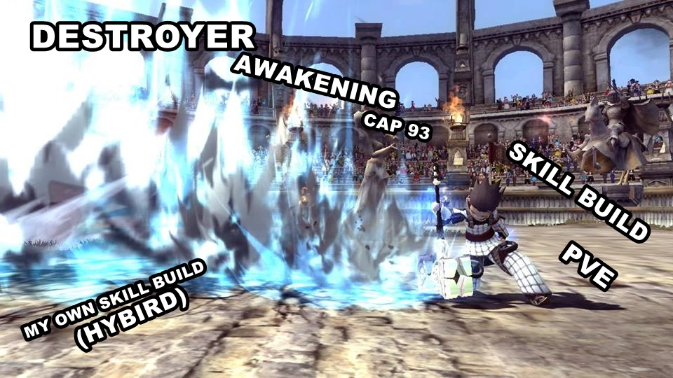 dragon nest destroyer cap 93 awakening skill build