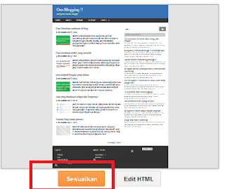 Tutorial blogger template design