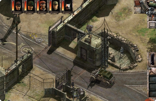 Commandos 3 Men of Courage Highly Compressed Game - HIGHLY